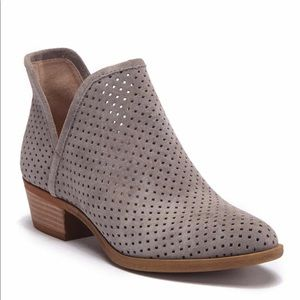 NWT Lucky Brand Brooklin Preforated Booties